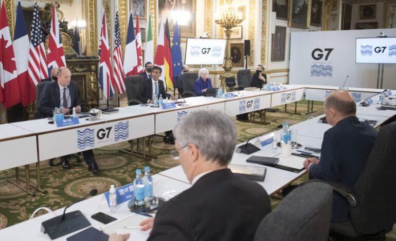 G7: Θετικές οι πρώτες αντιδράσεις για τον ελάχιστο εταιρικό φόρο 15%