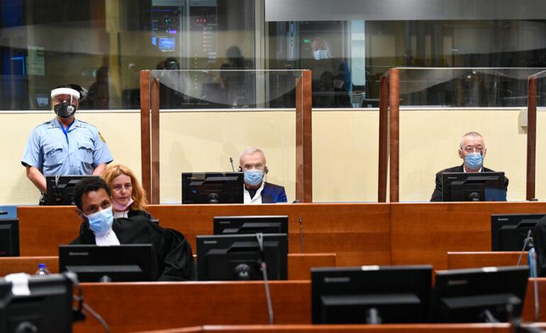 Kάθειρξη 12 ετών σε δύο στενούς συνεργάτες του Μιλόσεβιτς για εγκλήματα κατά της ανθρωπότητας