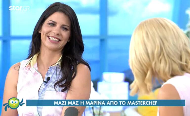 MasterChef 5: Η Μαρίνα Ντεμολλάι παραδέχθηκε ότι μπήκε στο παιχνίδι με στρατηγική