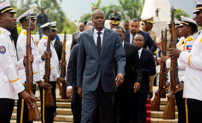 Αϊτή: «Πολιτικούς στόχους» είχε ένας από τους υπόπτους της δολοφονίας του προέδρου Μοΐζ