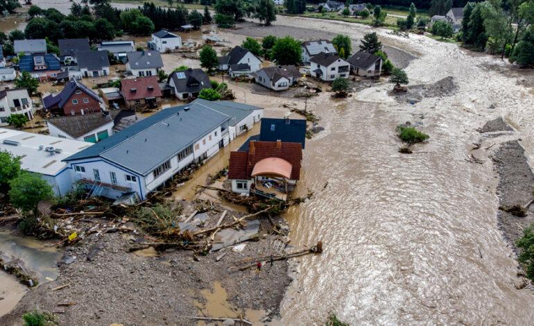 Γερμανία: Έκτακτη βοήθεια ύψους 400 εκατομμυρίων ευρώ για τους πληγέντες από τις πλημμύρες