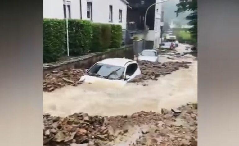Γερμανία: Τουλάχιστον 11 οι νεκροί από τις πλημμύρες – Πάνω από 200.000 χωρίς ηλεκτρικό
