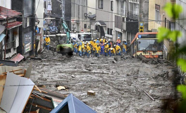 Ιαπωνία: Έντονες βροχοπτώσεις στα νότια – Πάνω από 120.000 άνθρωποι απομακρύνθηκαν από τα σπίτια τους