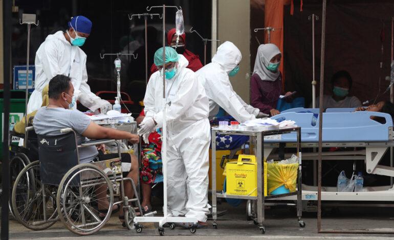 Ινδονησία: Περαιτέρω διεύρυνση των περιορισμών λόγω έξαρσης της επιδημίας