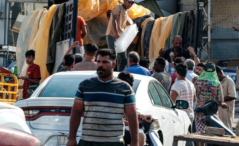 Ιράκ: Ρεκόρ με 8.818 κρούσματα σε μία μέρα