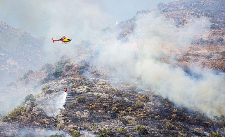 Ισπανία: Πυρκαγιά έκαψε 4.000 στρέμματα φυσικού πάρκου στην Καταλονία