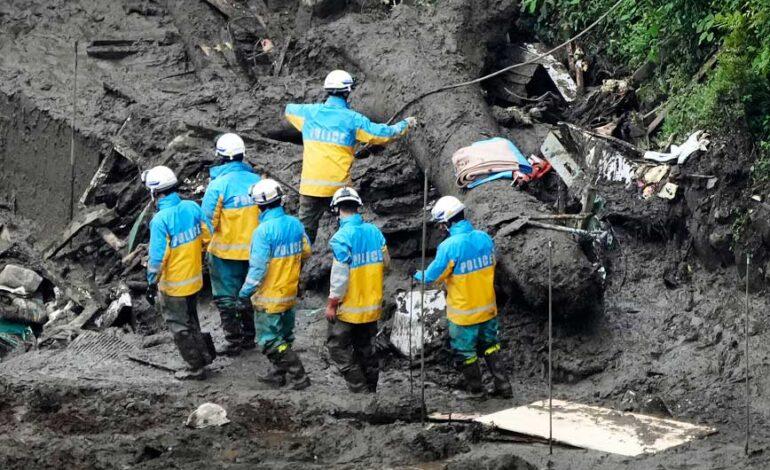 Κατολίσθηση λάσπης στην Ιαπωνία: Στους 4 οι νεκροί, 64 οι αγνοούμενοι