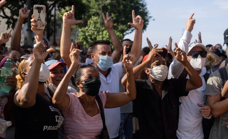 Κούβα: Κίνδυνος αύξησης των κρουσμάτων κορονοϊού, λόγω των διαδηλώσεων