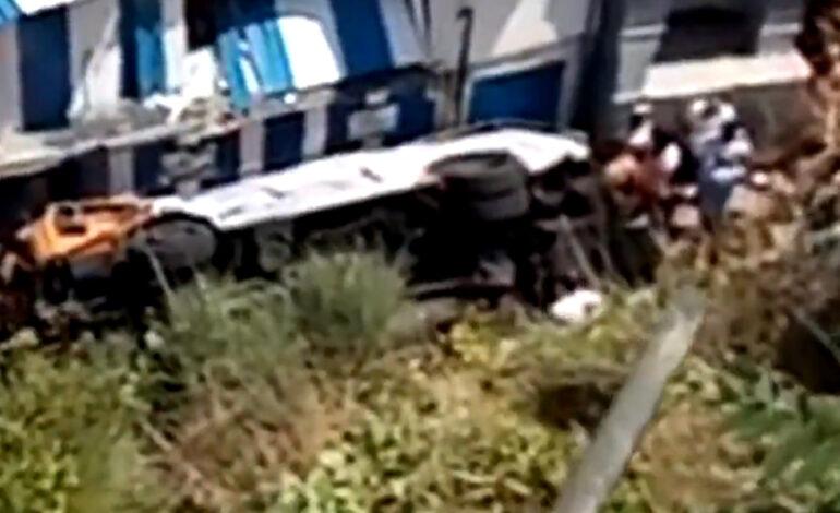 Λεωφορείο έπεσε σε γκρεμό στο Κάπρι της Ιταλίας – Ένας νεκρός και 19 τραυματίες