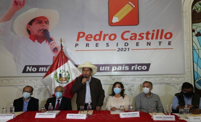 Προεδρικές εκλογές στο Περού: Νικητής ο Πέδρο Καστίγιο