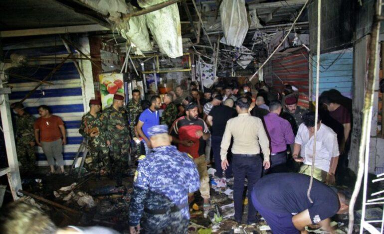 Το Ισλαμικό Κράτος ανέλαβε την ευθύνη για το μακελειό στη Βαγδάτη