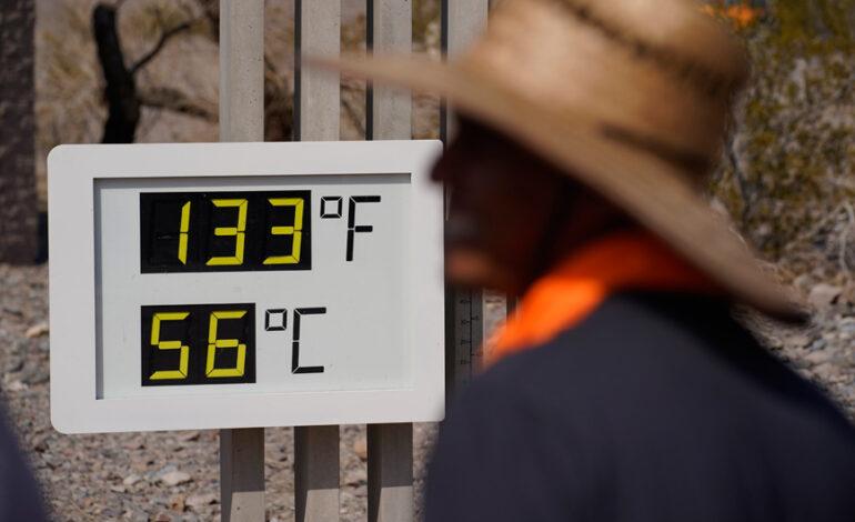 Ψήνονται οι δυτικές ΗΠΑ: Το θερμότερο έδειξε 56,6 βαθμούς Κελσίου