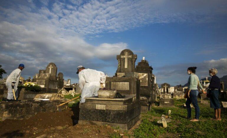 Ξεπέρασαν τους 520.000 οι νεκροί και τα 6,2 εκατ. τα κρούσματα στη Βραζιλία