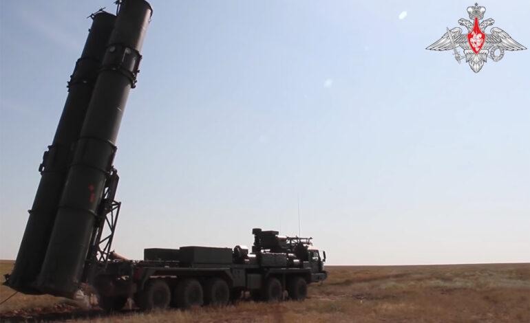 Ρωσία: Στη δημοσιότητα βίντεο με τη δοκιμή των S-500
