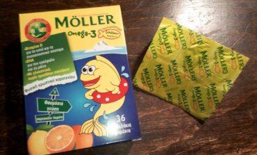 """""""Καμπάνα"""" για το μουρουνέλαιο και τα ζελεδάκια Moller's – Απαγόρευση των διαφημίσεων"""