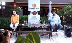 Θάνος Τζήμερος & Φαήλος Κρανιδιώτης, μαζί σε εκδήλωση στην Κηφισιά.