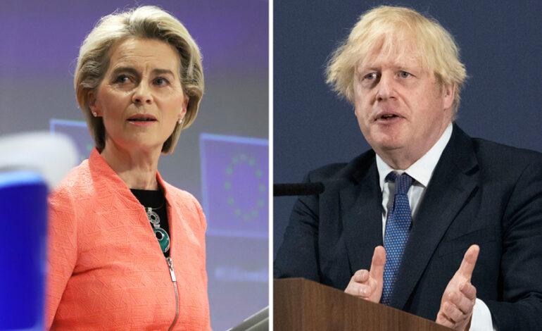 Tζόνσον προς ΕΕ: Επανεξετάστε τις μετά το Brexit προτάσεις – «Δεν επαναδιαπραγματεύομαστε», λέει η Ούρσουλα φον ντερ Λάιεν