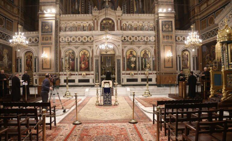Δεν συζητά η Εκκλησία να μπαίνουν στους ναούς μόνο εμβολιασμένοι