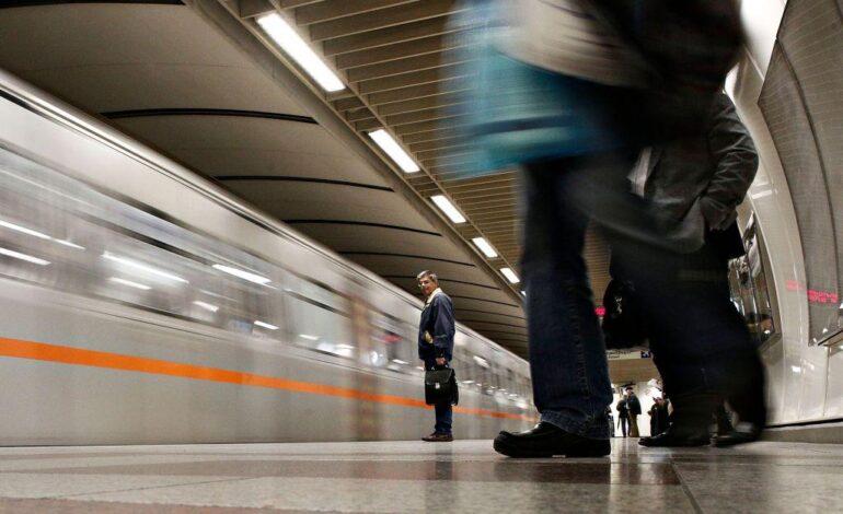Στάση εργασίας σήμερα σε μετρό και ΗΣΑΠ – Ποιες ώρες τραβούν χειρόφρενο