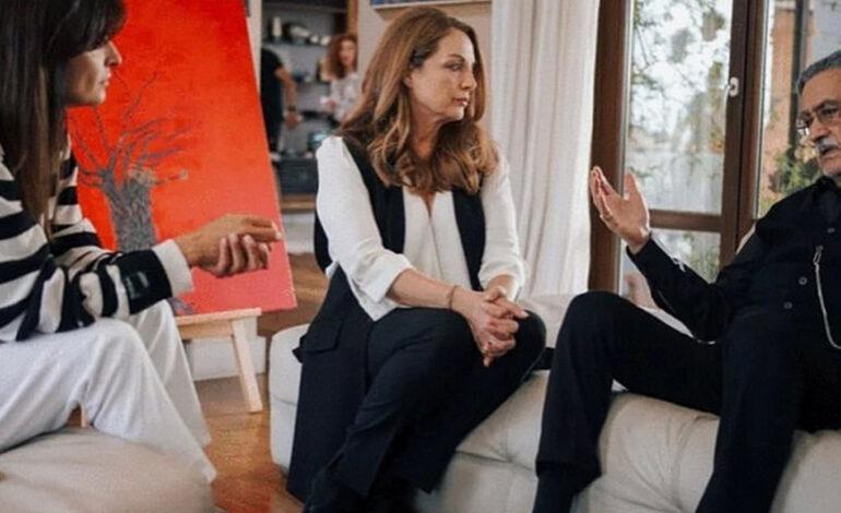 Άντζελα Γκερέκου: Η ανάρτησή της λίγο πριν την πρεμιέρα του νέου σίριαλ του Mega, «Η Γη της ελιάς»