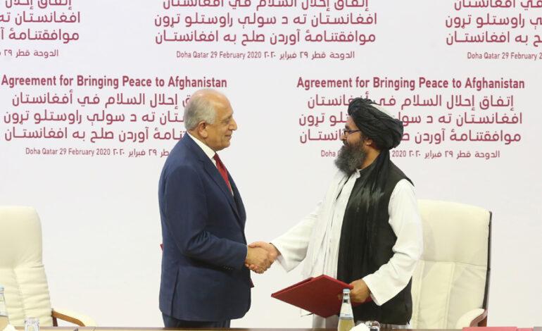 Αφγανιστάν: Ο Αμερικανός απεσταλμένος Ζαλμάι Χαλιλζάντ, σύμβολο της παταγώδους αποτυχίας των ΗΠΑ