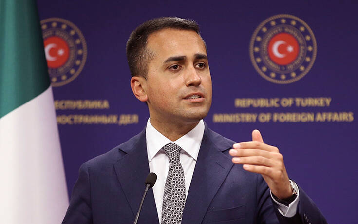 «Η Ιταλία θέλει να φιλοξενήσει 2.500 Αφγανούς», δήλωσε ο Ιταλός υπουργός Εξωτερικών Ντι Μάιο