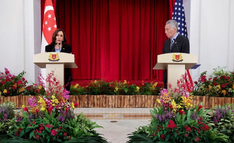 Κάμαλα Χάρις: Προτεραιότητά μας οι επιχειρήσεις απομάκρυνσης στο Αφγανιστάν