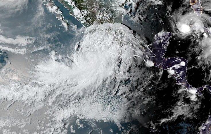Μεξικό: Έκδοση προειδοποιήσεων για την τροπική καταιγίδα Νόρα