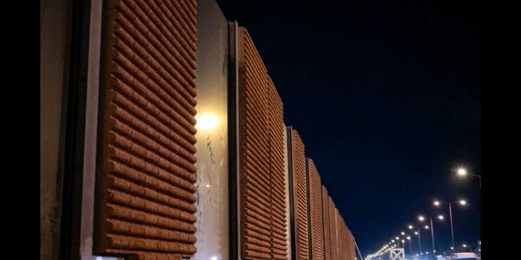 Ηχοπετάσματα από ξυλοσκυρόδεμα τοποθέτησε η Νέα Οδός στην εθνική οδό στην Κηφισιά