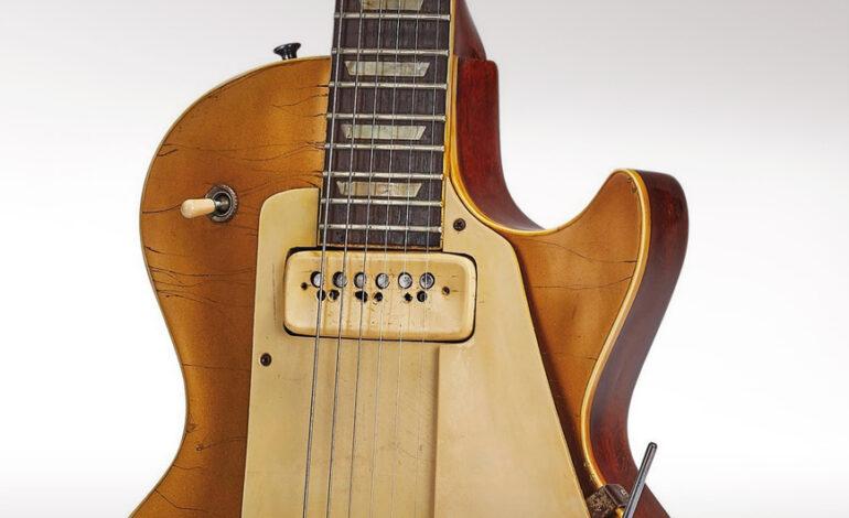 Σε δημοπρασία η «Number One» Gibson κιθάρα του Les Paul