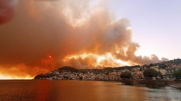 """""""Μπλόκο"""" στις ανεμογεννήτριες στα καμένα της Εύβοιας επιχειρεί να βάλει ο δήμος Λίμνης-Αγίας Άννας"""