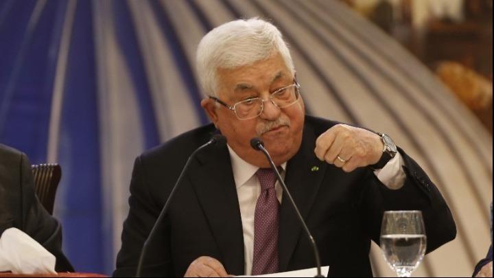 Συνάντηση του Μαχμούντ Αμπάς με τον ισραηλινό υπουργό Άμυνας Μπένι Γκαντς
