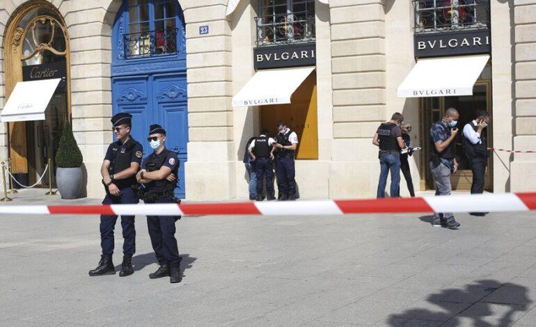 Ένοπλη ληστεία σε κοσμηματοπωλείο της αλυσίδας Bulgari στο Παρίσι, με λεία 10 εκατ. ευρώ
