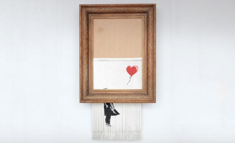 Έως και εξαπλάσια η τιμή για το μισοκατεστραμμένο «Κορίτσι με το Μπαλόνι» του Banksy