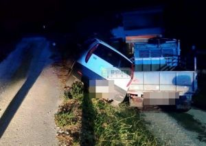 Γιάννενα – Απίστευτη διάσωση μετά από τροχαίο – Κρατούσαν με τα χέρια αυτοκίνητο στο χείλος του γκρεμού