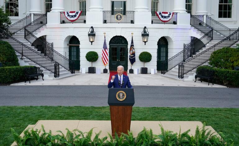 Θέμα Εθνικής Ασφάλειας: Τα μεσάνυχτα κοινή δήλωση Μπάιντεν, Τζόνσον και Μόρισον