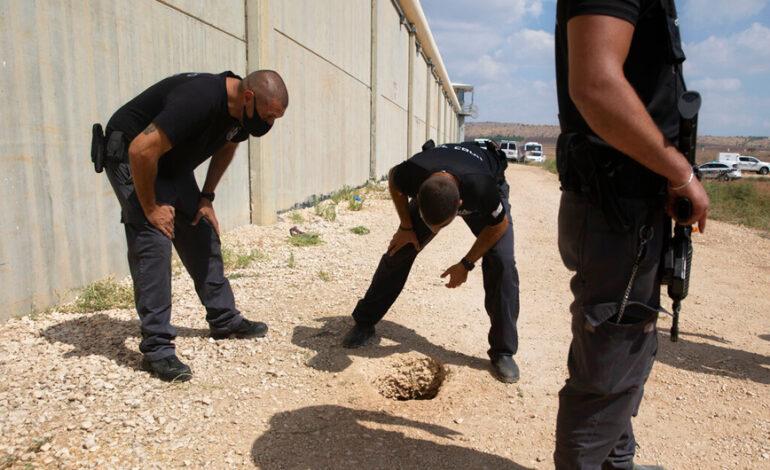 Ισραήλ: Αναζητούνται ακόμα οι έξι Παλαιστίνιοι κρατούμενοι που απέδρασαν σκάβοντας τούνελ