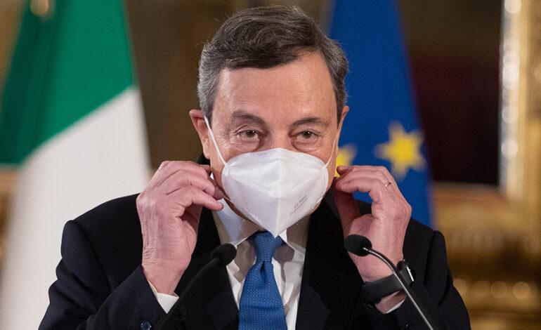 Κορονοϊός – Ιταλία: «Ναι» Ντράγκι στον υποχρεωτικό εμβολιασμό και στην τρίτη δόση