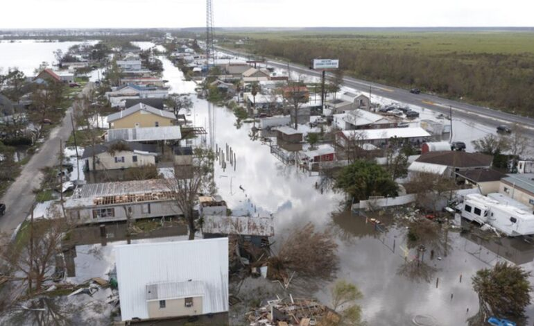 Κυκλώνας Άιντα: Τους 26 νεκρούς έφθασε ο απολογισμός των θυμάτων στη Λουιζιάνα
