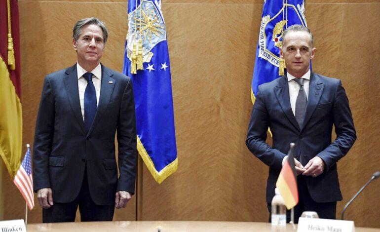 Μπλίνκεν – Μάας: «Καλή η συνεργασία» Γερμανίας – ΗΠΑ στο Αφγανιστάν