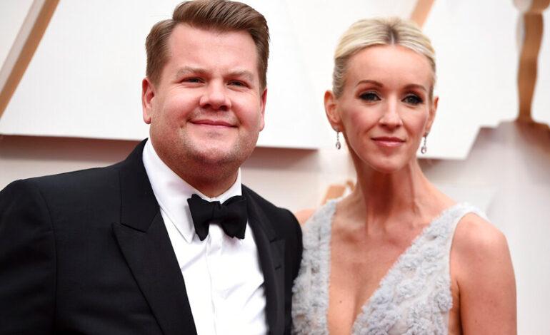 Ο Τζέιμς Κόρντεν και η σύζυγός του δεν βγήκαν ποτέ ραντεβού πριν το γάμο τους