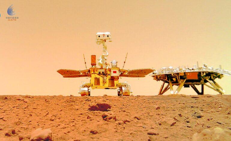 Πανοραμική εικόνα του πλανήτη Άρη από το κινέζικο ρόβερ Zhurong