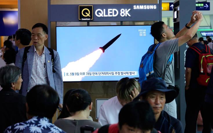 Πεντάγωνο για Βόρεια Κορέα: Η εκτόξευση πυραύλων συνιστά «απειλή» για τους γείτονες