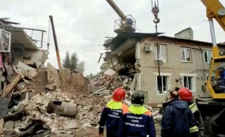 Ρωσία: Τρεις νεκροί έπειτα από έκρηξη φυσικού αερίου σε κτίριο
