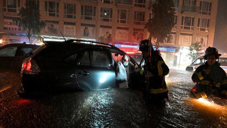 Χάος στη Νέα Υόρκη από την καταιγίδα Άιντα – Τουλάχιστον 41 νεκροί